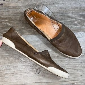 Frye Melanie Leather Flats